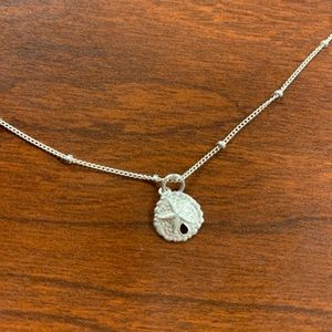 Jewelry - Sterling silver sand dollar anklet